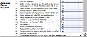 adjusted gross income - photo #8