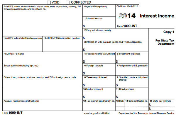 Understanding Tax Form 1099-INT • Novel Investor