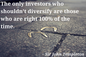 Templeton Diversification Quote